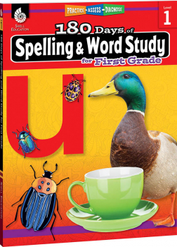 180 Days of Spelling & Word Study for First Grade