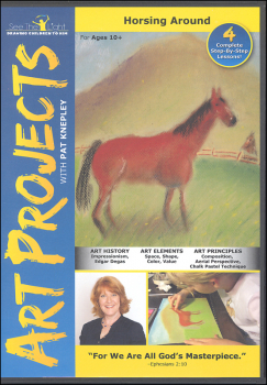 Art Projects: Horsing Around DVD