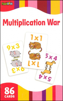 Multiplication War Flashcards