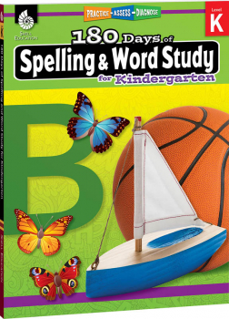 180 Days of Spelling & Word Study for Kindergarten