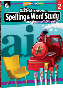 180 Days of Spelling & Word Study for Second Grade