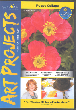 Art Projects: Poppy Collage DVD