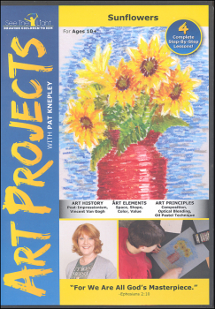 Art Projects: Sunflowers DVD