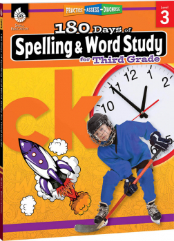 180 Days of Spelling & Word Study for Third Grade