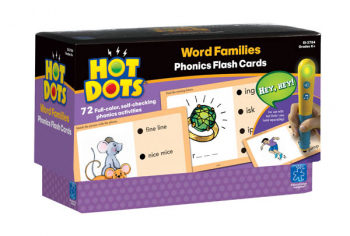 Word Families Hot Dots Set 5