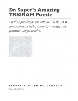 Dr. Super's Trigram Puzzle Outlines
