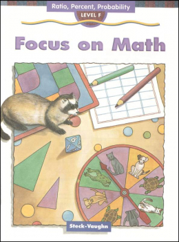 Focus on Math - F Ratio, Percent, Probability