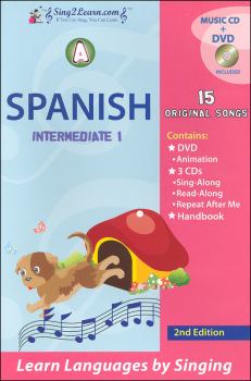 Spanish Intermediate 1A Combo (Song Book, CDs, DVD)