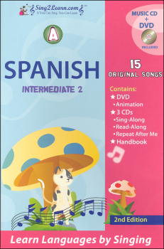 Spanish Intermediate 2A Combo (Song Book, CDs, DVD)
