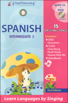 Spanish Intermediate 2B Combo (Song Book, CDs, DVD)