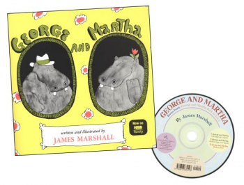 George & Martha Book & CD