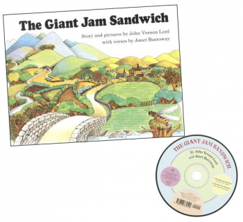 Giant Jam Sandwich Book & CD