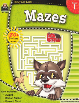 Mazes Gr. 1 (Ready, Set, Learn)