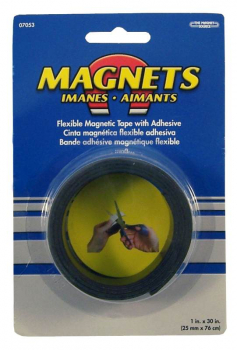 "Flexible Magnetic Tape 1"" x 30"" Roll"