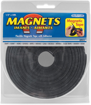 "Flexible Magnetic Tape 1/2"" x 25' Roll"