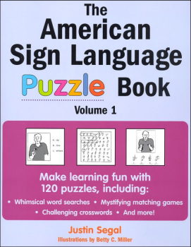 American Sign Language Puzzle Book Vol. 1