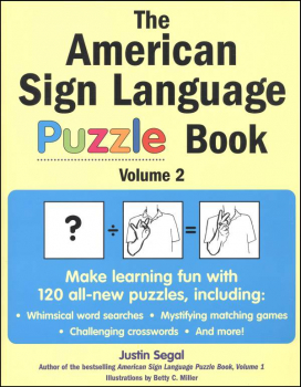 American Sign Language Puzzle Book Vol. 2