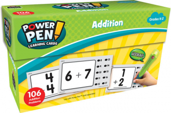 Power Pen Learning Cards: Addition