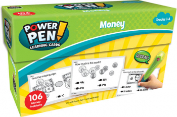 Power Pen Learning Cards: Money