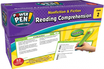 Power Pen Learning Cards: Reading Comprehension Grade 2