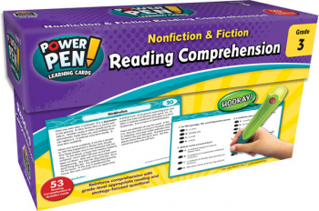Power Pen Learning Cards: Reading Comprehension Grade 3