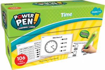 Power Pen Learning Cards: Time