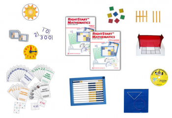 RightStart Mathematics Starter Kit Level A with AL Abacus Standard (1st Edition)