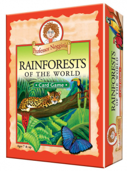 Prof Noggin's Rainforests of World Card Game