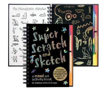 Super Scratch & Sketch Activity Book