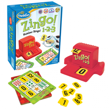 Zingo! 1-2-3 Number Bingo Game