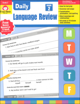 Daily Language Review Grade 2 Common Core Edition