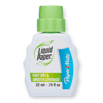 Liquid Paper Correction Fluid (Foam Brush)