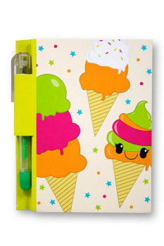 Yummy Sketch & Sniff Note Pad - Rainbow Sherbet