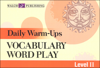 Daily Warm-Ups: Vocabulary Word Play (Level 2)