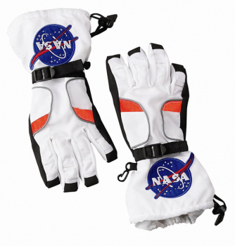 Astronaut Gloves - White (Small)