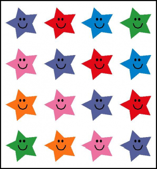 Star Incentive Stickers