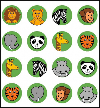Zoo Incentive Stickers