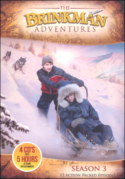 Brinkman Adventures Season 3 CDs