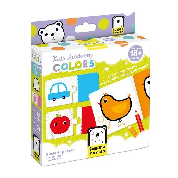 Kids Academy: Colors (coloring books and puzzles)