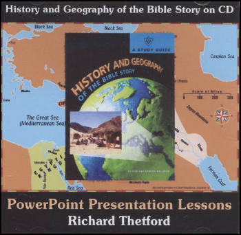 History & Geography of the Bible Story CD-ROM