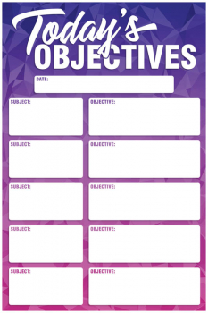 Magnetic Write & Wipe Geo Abstract Objectives
