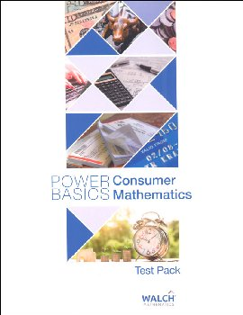Consumer Math Test Pack (Power Basics)