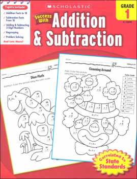 Addition & Subtraction: Grade 1 (Scholastic Success With)