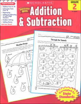 Addition & Subtraction: Grade 2 (Scholastic Success With)