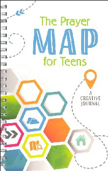 Prayer Map for Teens: Creative Journal