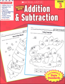 Addition & Subtraction: Grade 3 (Scholastic Success With)