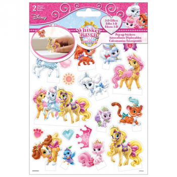 Disney Palace Pets Pop up Stickers (2 Sheet)