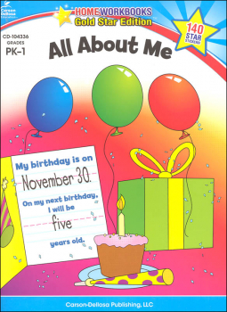 All About Me - Home Workbook
