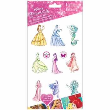 Disney Princess Pop up Stickers (4x8)