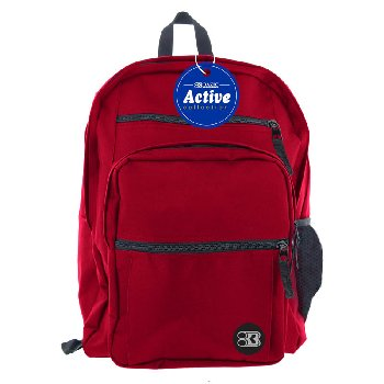 Burgundy Active Backpack 17""